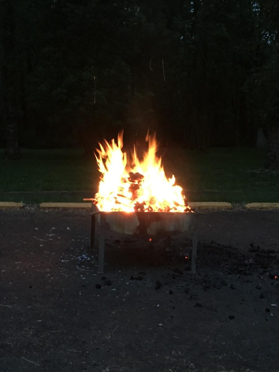 Camporee Fire (2)