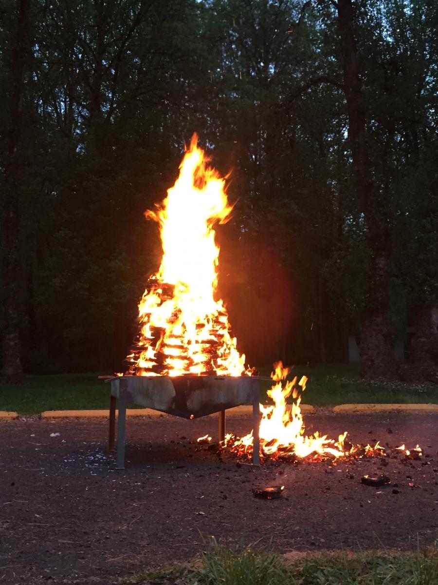 Camporee Fire (4)